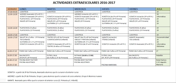 cuadrante-extraescolares-2016-2017