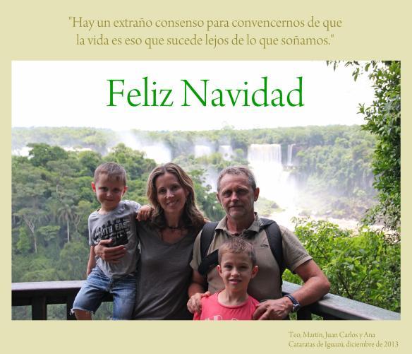 felicitación Ana & family