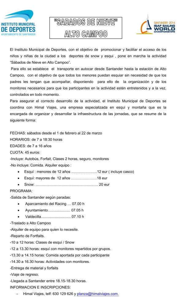 Microsoft Word - SABADOS DE NIEVE imagen.doc