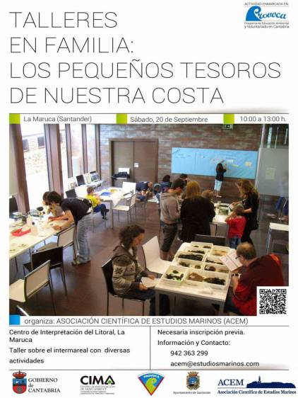 cartel talleres ACEM-Santander