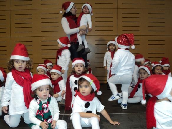 Los muñecos de nieve de 2 años