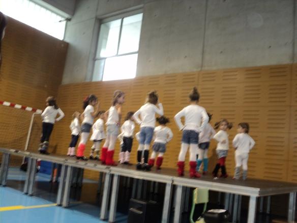 El grupo de danza de extraescolares de Infantil.